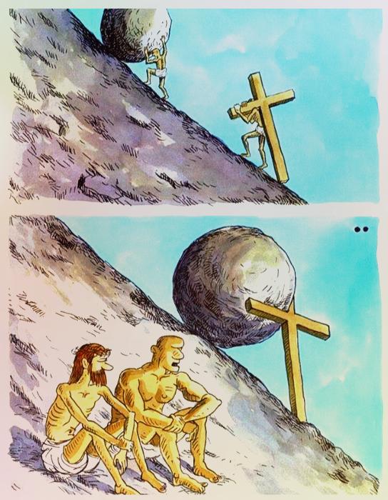 Christ and Sisyphus