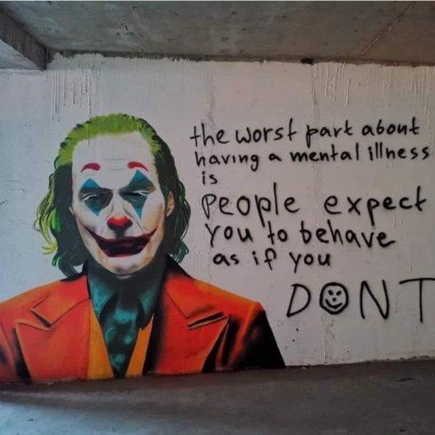 joker mural